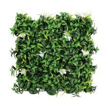 Wall ornament fireproof artificial hedge fence in roll for decor
