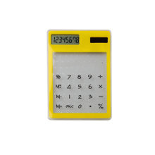 8 Digits Solar Power Mini Super Thin Pocket Calculator