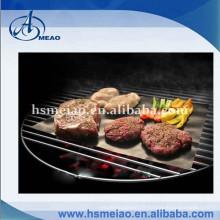 Tapis de grillade de barbecue au gaz de teflon ptfe de 0,2 mm d'épaisseur