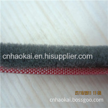 Silicone Wool Pile Weather Strip For Pvc Window