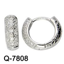 New Arrival 925 Sterling Silver Earrings with CZ (Q-7808)
