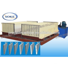 Wall panel forming machine for prefab houses