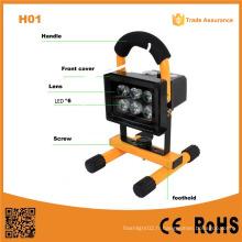 H01 Flood Light 10W rechargeable portable LED lumière extérieure