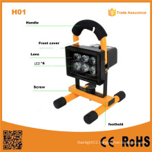 H01 Flood Light 10W Rechargeable Portable LED Outdoor Light
