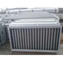 Trocador industrial de calor de ar de aço para usinas