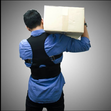 Therapy posture corrector back support brace belt