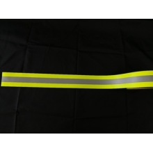 Flame Retardant Cotton Fluorescent Warning Tape