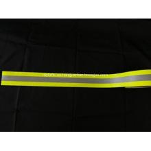 Cinta de advertencia fluorescente de algodón ignífuga EN469