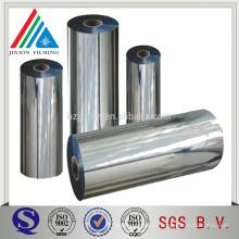 20 micras de fundición Aluminio Metalizado CPP película Para Embalaje Flexible