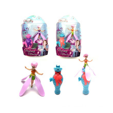 Plastic Girl Toys Fashion Doll Pull Line Flying Doll (H1308062)