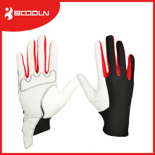 High Quality Full Finger PU Leather Racing Glove Golf Gloves