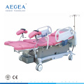 AG-C101A03 instrumentos quirúrgicos inteligentes entrega obstétrica camas de trabajo fabricante