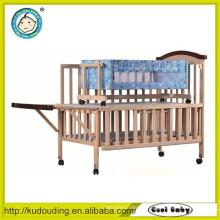 China fornecedor bebê modelos de cama de madeira moderna