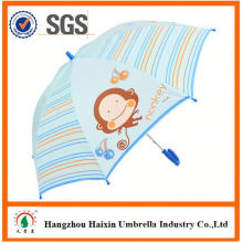 Professional Auto Open Cute Printing led light-up kids umbrella