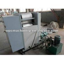 Máquina de impressão em madeira de plástico