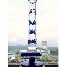 Heißer Verkauf Inline Percolartor Glas Rauchen Rohr mit Fabrik Preis