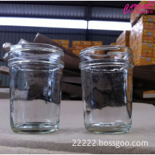 Glass jars for candle making