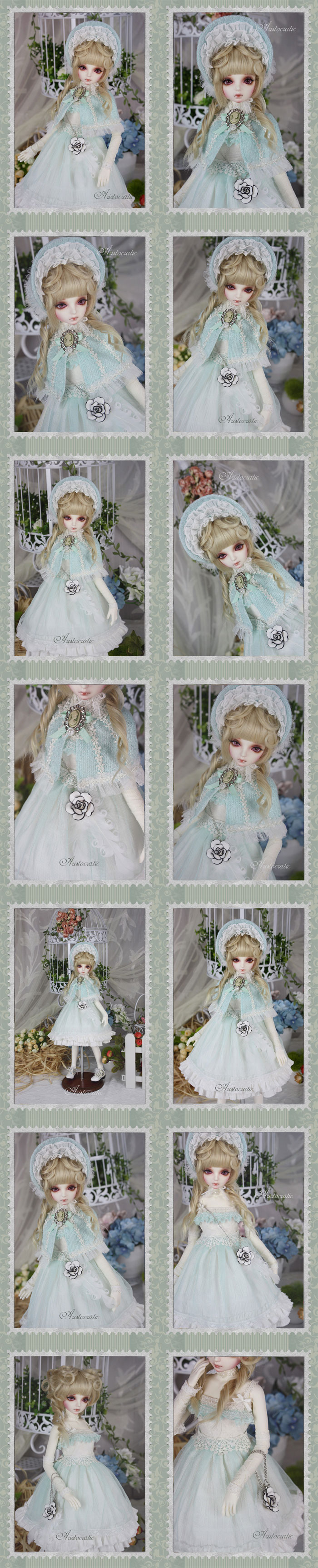 Clothes Girl Dress Suit For MSD