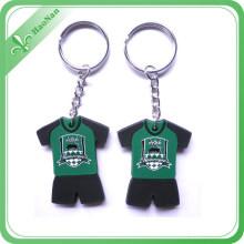 Kundenspezifisches PVC-Keychain des Gummi-3D für Andenken-Geschenke / Gurtband / Paare