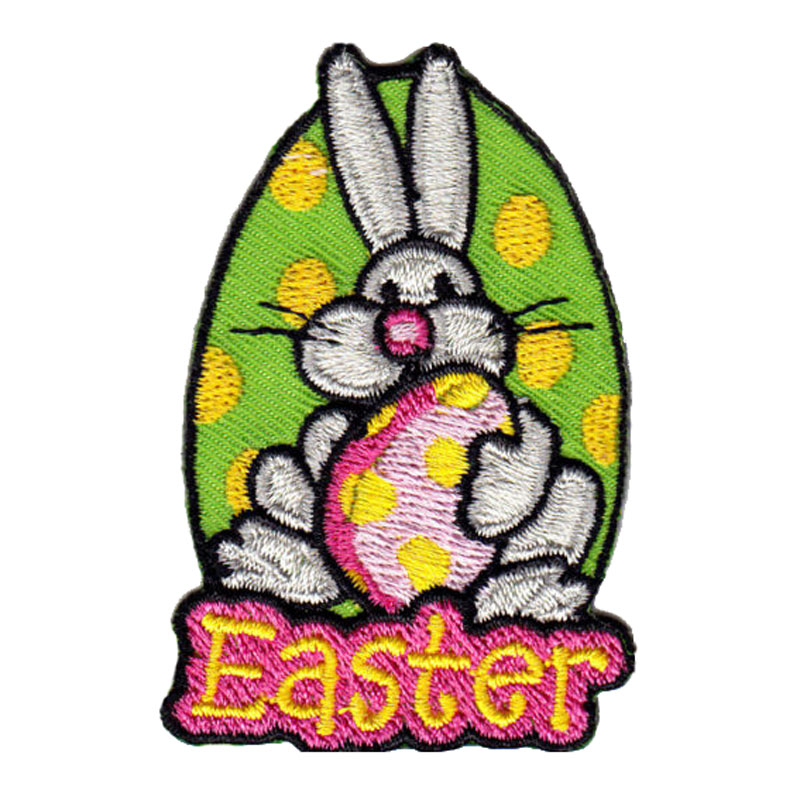 Easter Patch Wbunny Egg