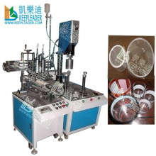 PVC/Pet/Clear/Plastic Cylinder Gluing Machine, Printed Cylinder Gluing Machine