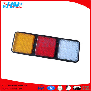 Rectangular LED Turn Tail Light With Three Colors