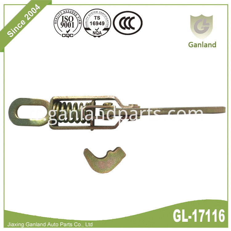 Spring Loaded Toggle Latch GL-17116