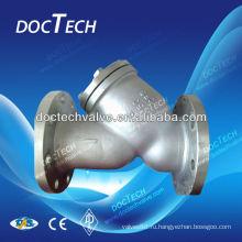 Сетчатый фильтр/фильтр фланцевый Y-типа из нержавеющей стали