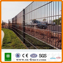 (Shunxing Brand) green color securing boundaries fence double wire fence