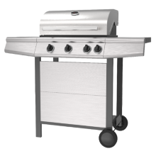Three Burner Outdoor Gas Barbecue Grill