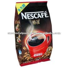 Sacos de café Nestcafe com / sem válvula e material de alta qualidade para tamanho diferente