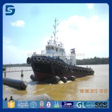 Airbag marino flotante de goma para el movimiento pesado