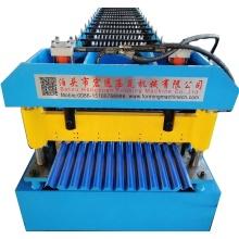Máquina onduladora de chapa de acero de teja ondulada de teja ondulada