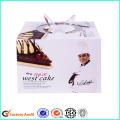 Cardboard Birthday Cake Box With Cover