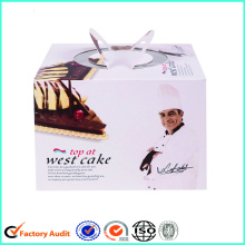 Cardboard Birthday Cake Box With Cover
