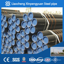 sch40 seamless steel pipe with black painted