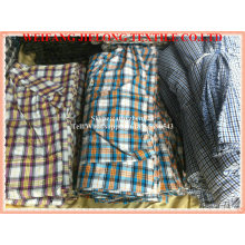 100% cotton yarn dyed shirting fabric