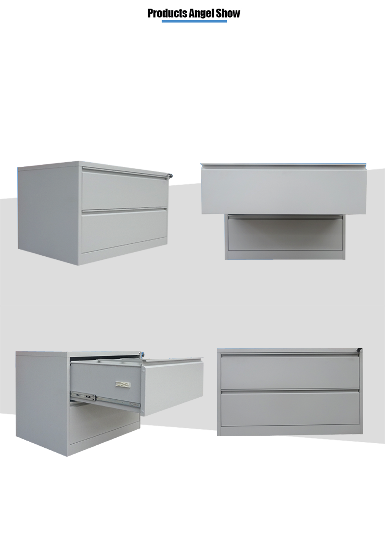 lateral drawers steel cabinet
