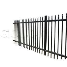 Easily Assembled Wrought Iron Garden Fencing