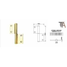 Gold Stahl Scharnier für Tür Hardware 4 Zoll