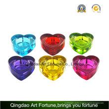 Set de regalo en forma de corazón Tealight Candelabro