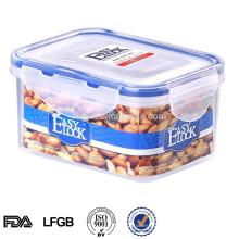 Easylock 500ml récipient en plastique hermétique de récipient de nourriture en plastique
