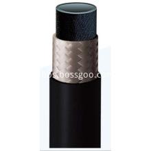 One-layer Fiber Braided Rubber Hose