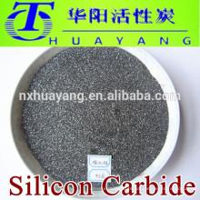 Carbotamento de carboneto de silício preto SIC para revestimento
