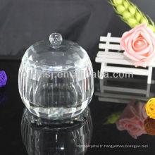 Boîte à bijoux en cristal pour la décoration et le cadeau CJ-M001