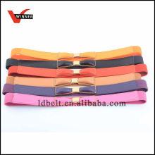 Vielzahl von Farben Damen Dressy Fashion Gürtel