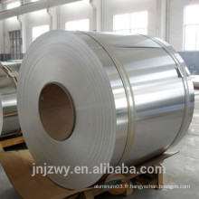 Bobine en aluminium miroir en argent pour lettre de canal