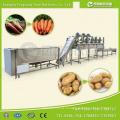 Автоматическая линия по производству сухих пищевых продуктов для автоматической мойки овощей