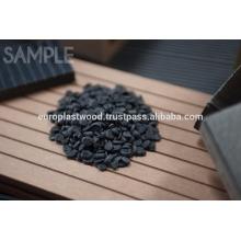 Compostos granulados WPC - produtos reciclados