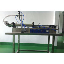 Sus316l Single Head Horizontal Self-suction Cosmetic Filling Machine For Ointment / Liquid